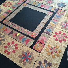 @leoniebatemandesigns is creating a beautiful quilt using her upcoming line Evandale. We can't wait to see the finished project! Stay tuned #pennyrosefabrics #ilovepennyrose #quilt #quilting #quilts