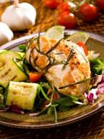 Grilled chicken is a good source of protein, which can help with low thryoid problems