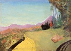 "Joseph Garlock Untitled, Paint on Canvas, 9"" x 13.25"""