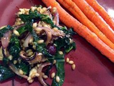 Wheatberry and Kale Salad via @dubagee