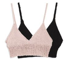 @Sarah Ahlberg and @Elizabeth Erstad-Hicks maybe we should change our plans and knit the bras instead of the bikini tops.