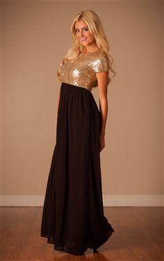 Black Gold Sequin Maxi Dress , Modest Clothing, Vintage Dress, Church Dresses, maxi dress, chevron maxi dress, dresses for church, modest maxi dress, red maxi dress, trendy modest, trendy modest clothing, trendy modest dress, trendy maxi dress