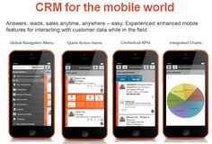 Mobile CRM lets your mobile and smart phone devices  and tablets to access, update and interact with customer data wherever they are at any time