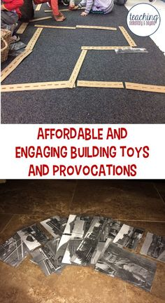 I love this idea as a building toy for boys and girls in kindergarten or preschool. Activities that are free or cheap are right up my alley, especially if they can entertain kids who love to play with cars for hours! This list is handy for making a local community which my kids can easily relate to.