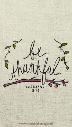 November & Thanksgiving iPhone Wallpapers — Victoria Bilsborough