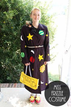 1d8a58e100 Make this Miss Frizzle costume for Halloween or a school dress up day!   InspirationSpotlight
