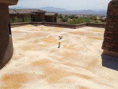Old Foam Roofing Condition | Roofing | Roof Construction | Arizona