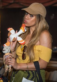 Dinah attends 'The Lion King' On Broadway at Minskoff Theatre