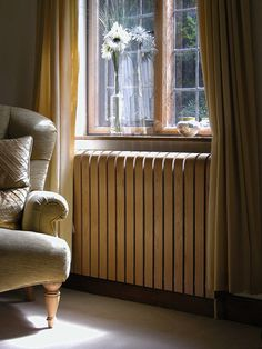 Not strictly colourful, but such a good idea. I really dislike radiators and their ugliness.