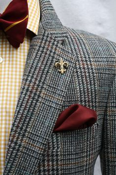 Mens Vintage Evan Picone Wool Plaid Sport Coat by ViVifyVintage