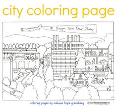 Richard scarry house and character printables busytown for Richard scarry coloring pages