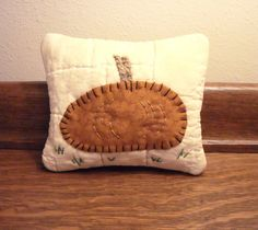 Primitive Pumpkin Pillow