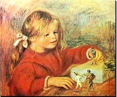 Claude Renoir jouant (1906) - Auguste Renoir