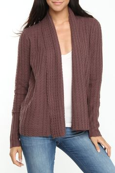 Urban Behavior Knitted Sweater In Brown -$19.99