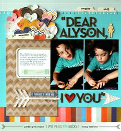 Valentine Theme: Dear Alyson by NancyDamiano @2peasinabucket