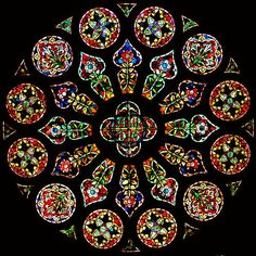 stained glass window from unidentified church