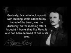 Edgar Allan Poe - The Black Cat with subtitles (Read by Christopher Lee)