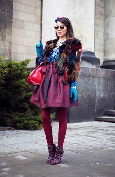 Macadamian girl. Осторожно, слишком ярко! / Fashion блоги /