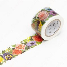 Garden Design (1 Roll)    Masking Tape  30 mm Wide x 10 m Length  Made in Japan    * ~ For more masking tapes, please see my listings! ~ *    - - -