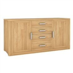 Valencia Solid Mountain Ash Timber 2 Door 4 Drawer 170cm Buffet T...