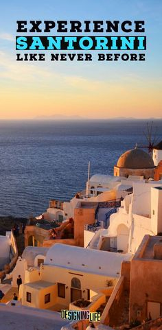 If you're looking for things to do in santorini greece you've found the best list here. From unique things to do in santorini greece to santorini greece beaches  and more incredible things around the island. So check out Santorini, explore Oia and watch the sunset on this magical island.