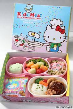 Kitty-Liscious: Hello Kitty Airline's In-Flight Meal