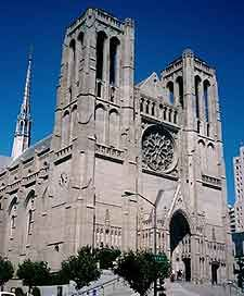 Grace Cathedral, San Francisco, California.
