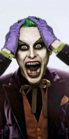 Jared Leto as THE JOKER…!!!