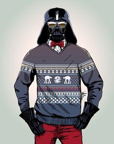 Hipster Darth Vader