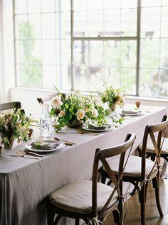 Feminine Peach Wedding and Tablescape Inspiration