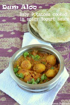 Koraishutir Kochuri ar Aloor Dam, Green Peas Kachori with Spicy aloo dum- Bengali style