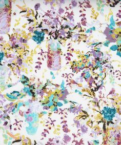 Hugo Grenville B Tana Lawn - Fabric from Liberty of London