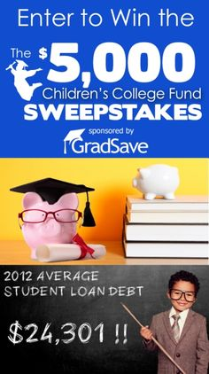 Enter to win $5,000 for your child's College Savings Plan