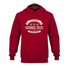 Gold Rush Scribner Creek Hoodie - Red