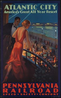 Title: Atlantic City. America's great all year resort    Creator/Contributor: Eggleston, Edward M., b. 1887 (artist)    Date issued: 1910-1959 (approximate)