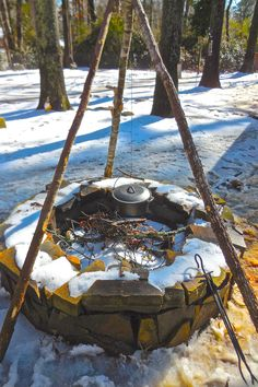 How to Build a Bushcraft Tripod for Your Outdoor Kitchen   Survival Sherpa