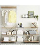 MAX Laundry Chrome Modular Shelving Set