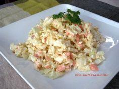 Coleslaw Salad Recipe – Surówka z białej kapusty   Polish Meals