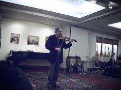 Mark O'Connor masterclass @ Boston Symphony Hall