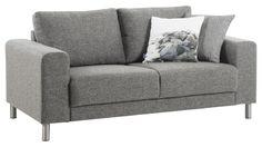 GAMMA 2-istuttava sohva  Surprise-kangas, harmaa