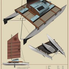 Plywood Boxes, Plywood Sheets, Freedom Of The Seas, Robert Wise, Shelter Design, Hobby Horse, Boat Plans, Simple Shapes, The Struts