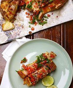 Mexican cheesy pull-apart bread with smoked tomato gremolata