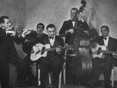 Django Reinhardt arguably the gretatest guitar player to ever live, showcases his greatness in ''Paris Blues''. But his entire band deserves credit , with notable drum and bass solo's.Please comment. Django Reinhardt -  Paris Blues (+playlist)