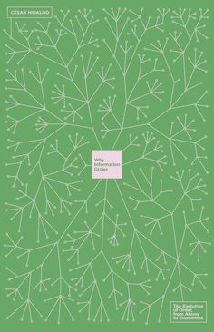 Why Information Grows by Cesar Hidalgo; design by Richard Green (Allen Lane / June 2015)