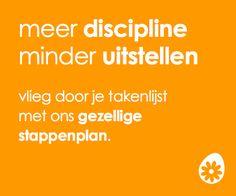 Meer discipline
