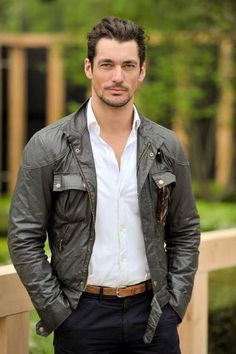 David Gandy attended the Chelsea Flower Show 2013 ~ David James Gandy David Gandy Style, David James Gandy, David Gandy Body, Urban Fashion, Men's Fashion, Fashion Trends, Stylish Men, Men Casual, Famous Male Models
