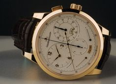 Jaeger Le Coultre Duometre Chronograph Watch (oh btw its + 30k)