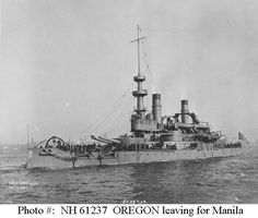 USS Oregon (BB-3) 1896-1956