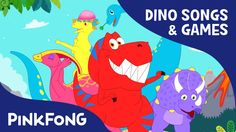 Tyrannosaurus-Rex SPECIAL | Dinosaur Songs & Mini Games | PINKFONG Songs...
