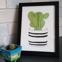 planted a baby cactus plant from the adult cactus  time for some repotting my big cactus plants have out grown their pots I have had them all from this size in the pic     #art #drawing #illustration #Sketch_Dailies #sketchbook #sketchdaily #original #design #cactus #cactusclub #succulents #homedecor #artforsale #watercolour